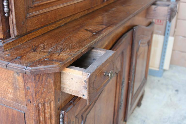 Early 19th Century Buffet a Deux Corps For Sale 4