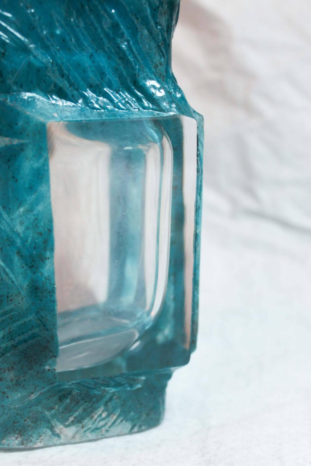 Vase By C 233 Sar Baldaccini Signed Daum France For Sale At