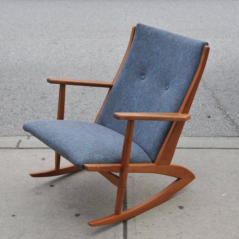 Holger Georg Jensen Model 97 Rocking Chair At 1stdibs
