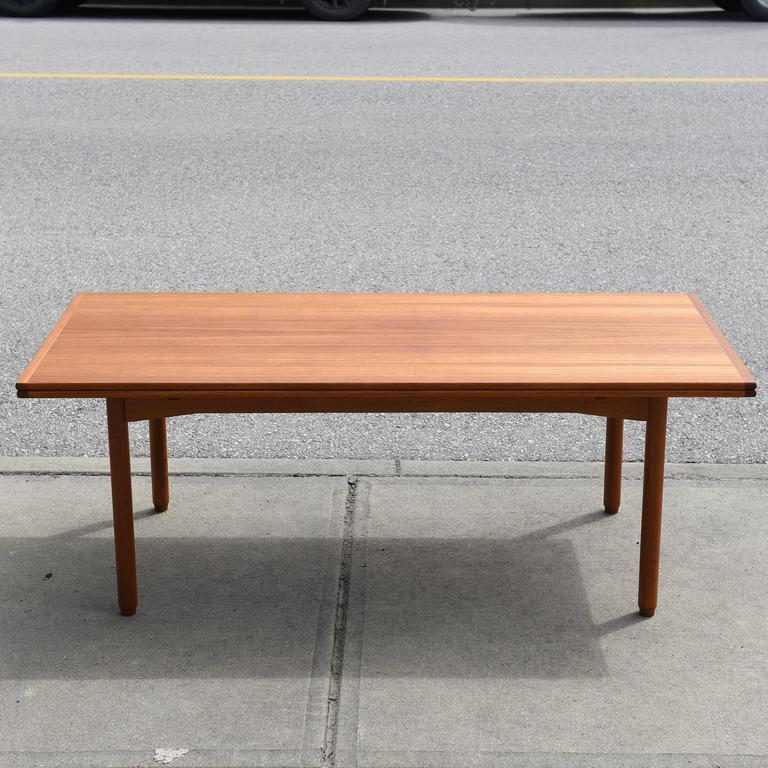 A Convertible Dining Or Coffee Table By P S Heggen Of Nordfjordeid Norway Dual Purpose