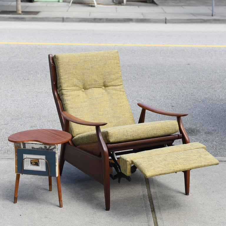 Afrormosia Recliner By R S Associates Ltd Canada For Sale At 1stdibs