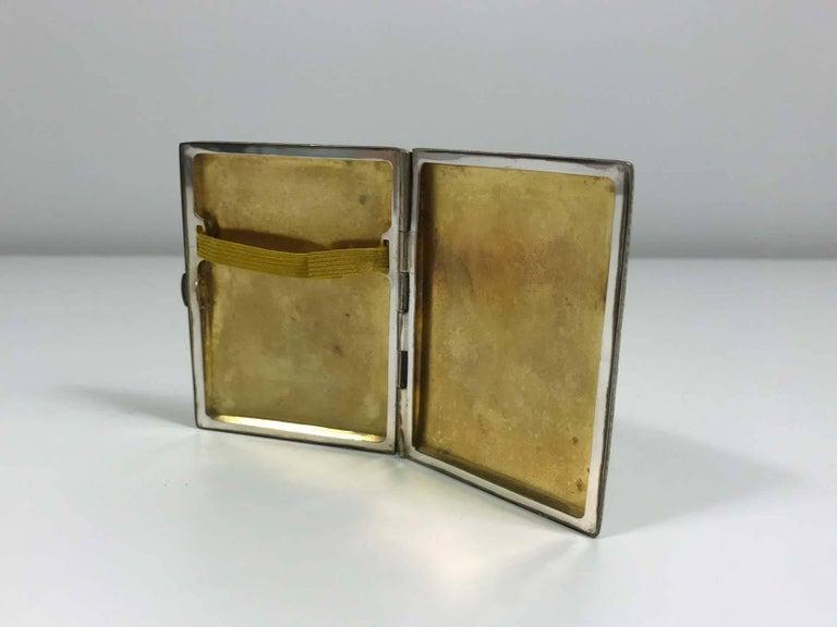 American Shagreen Cigarette Case For Sale