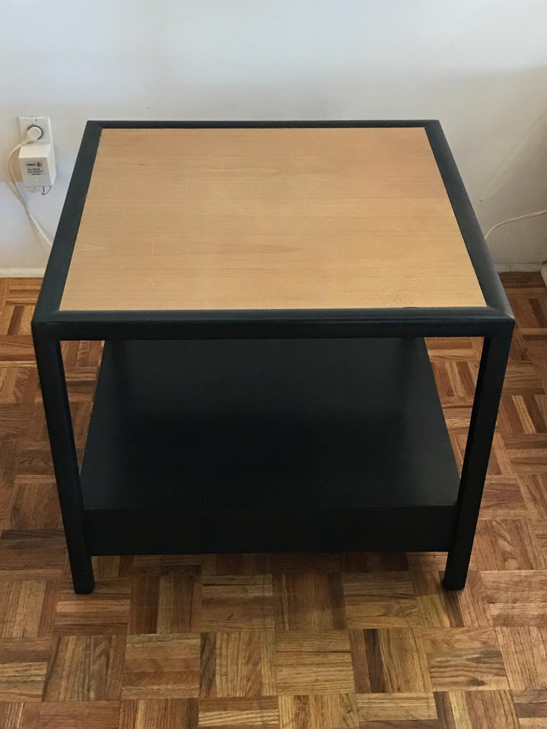 Mid-Century Modern New World End Tables by Michael Taylor for Baker Furniture For Sale