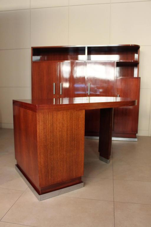 Art Deco Desk And Cabinet For Sale At 1stdibs