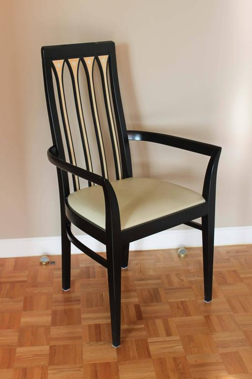 Vintage Dining Chairs Set Of Ten For Sale At 1stdibs
