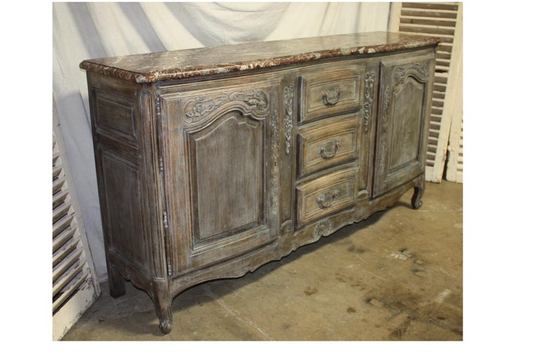 Louis XV Early 19th Century French Sideboard For Sale