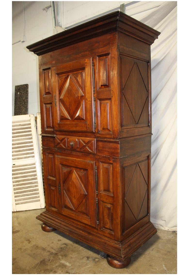 Louis XIII French 18th Century Cabinet