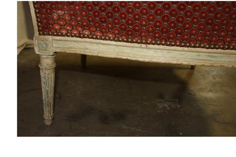 Magnificent Pair of 18th Century French Bergere Chairs For Sale 9