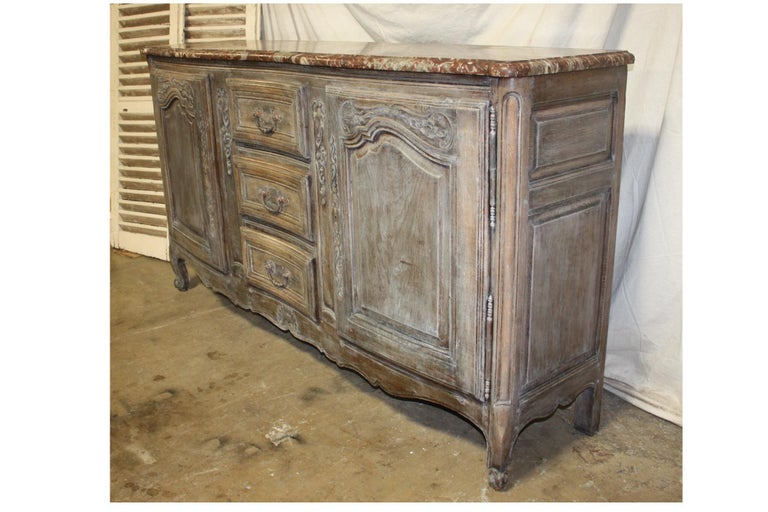 Marble Early 19th Century French Sideboard For Sale