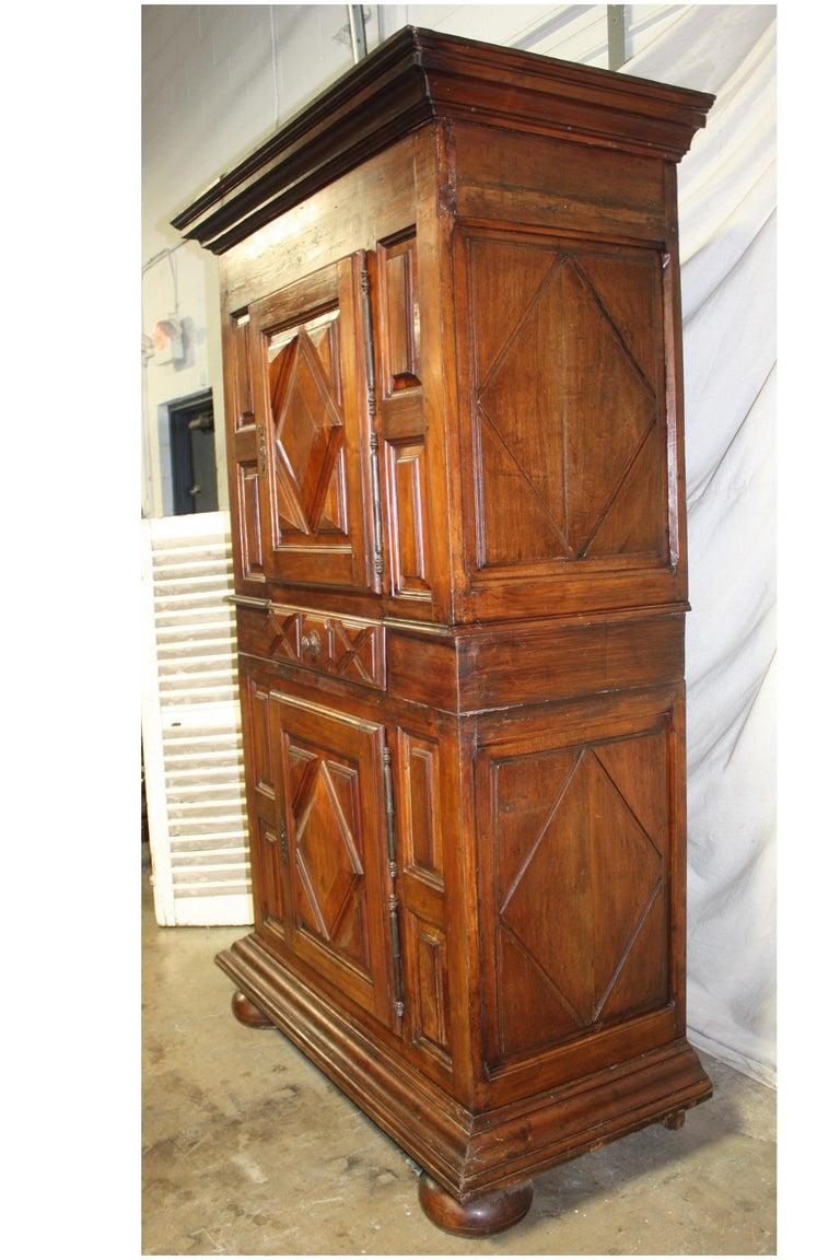Walnut French 18th Century Cabinet