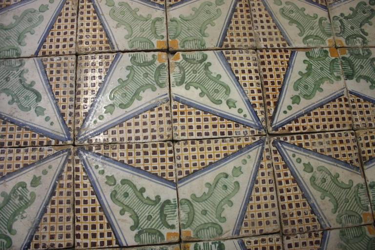 18th Century French Tiles For Sale 1