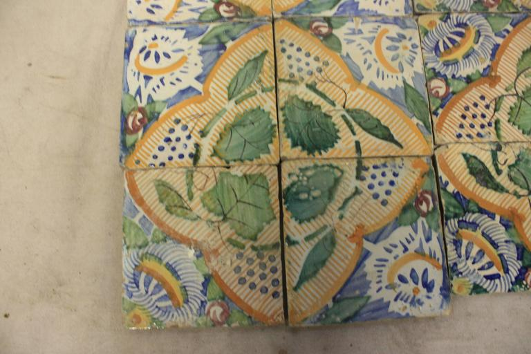 18th Century French Terracotta Tiles In Good Condition For Sale In Atlanta, GA
