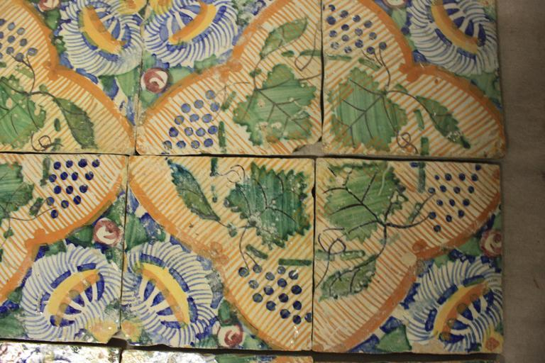 18th Century French Terracotta Tiles For Sale 3