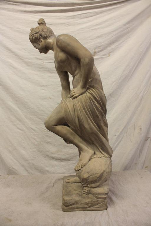 French 19th Century Marble Sculpture For Sale