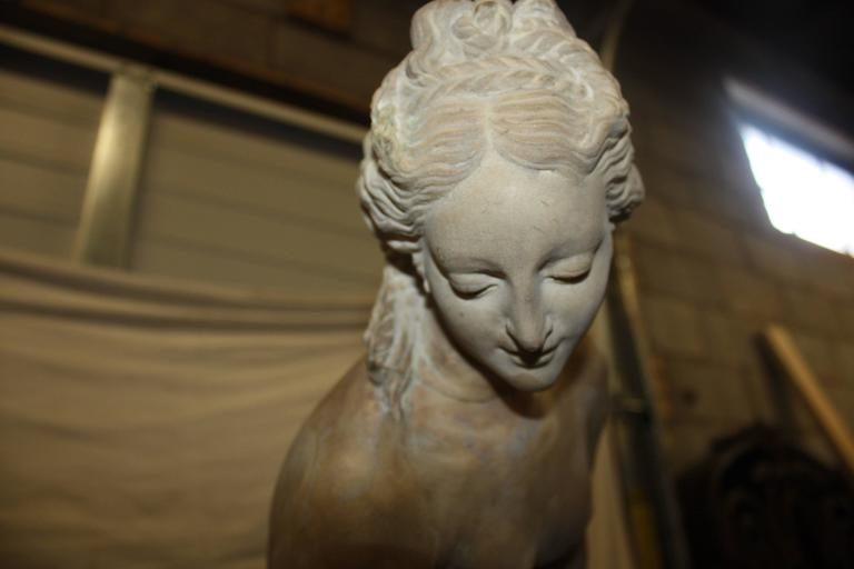 19th Century Marble Sculpture In Good Condition For Sale In Atlanta, GA
