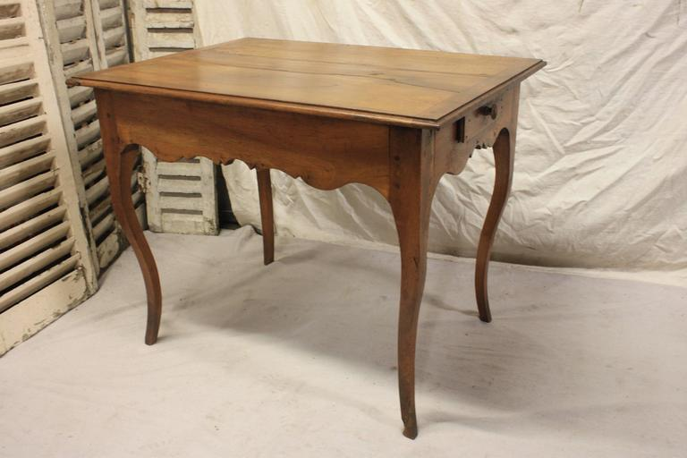 Charming 19th century French provincial table.