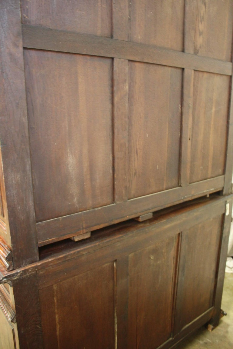 Gorgeous 19th century french black forest cabinet for for 19th century kitchen cabinets