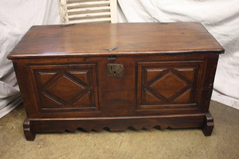17th century French trunk.