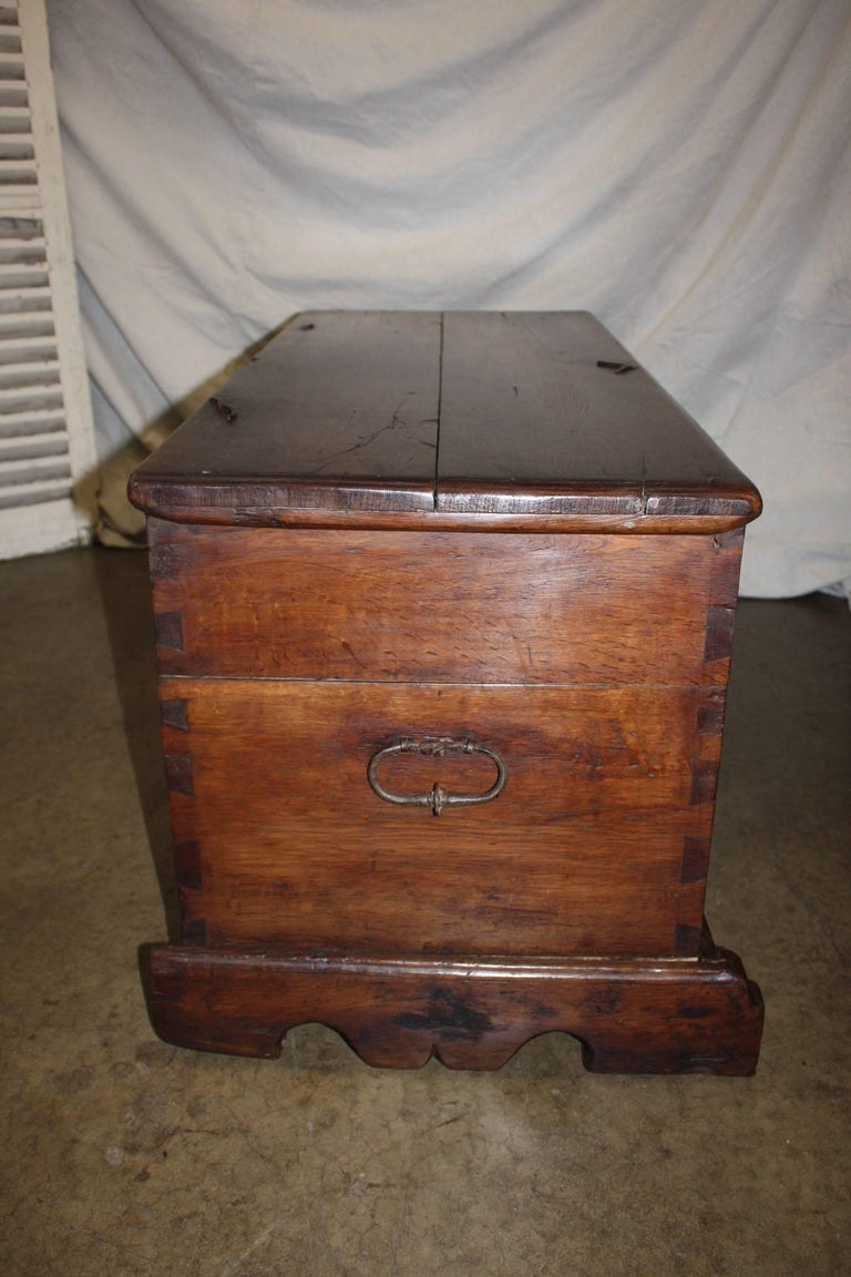 17th Century French Trunk For Sale 3