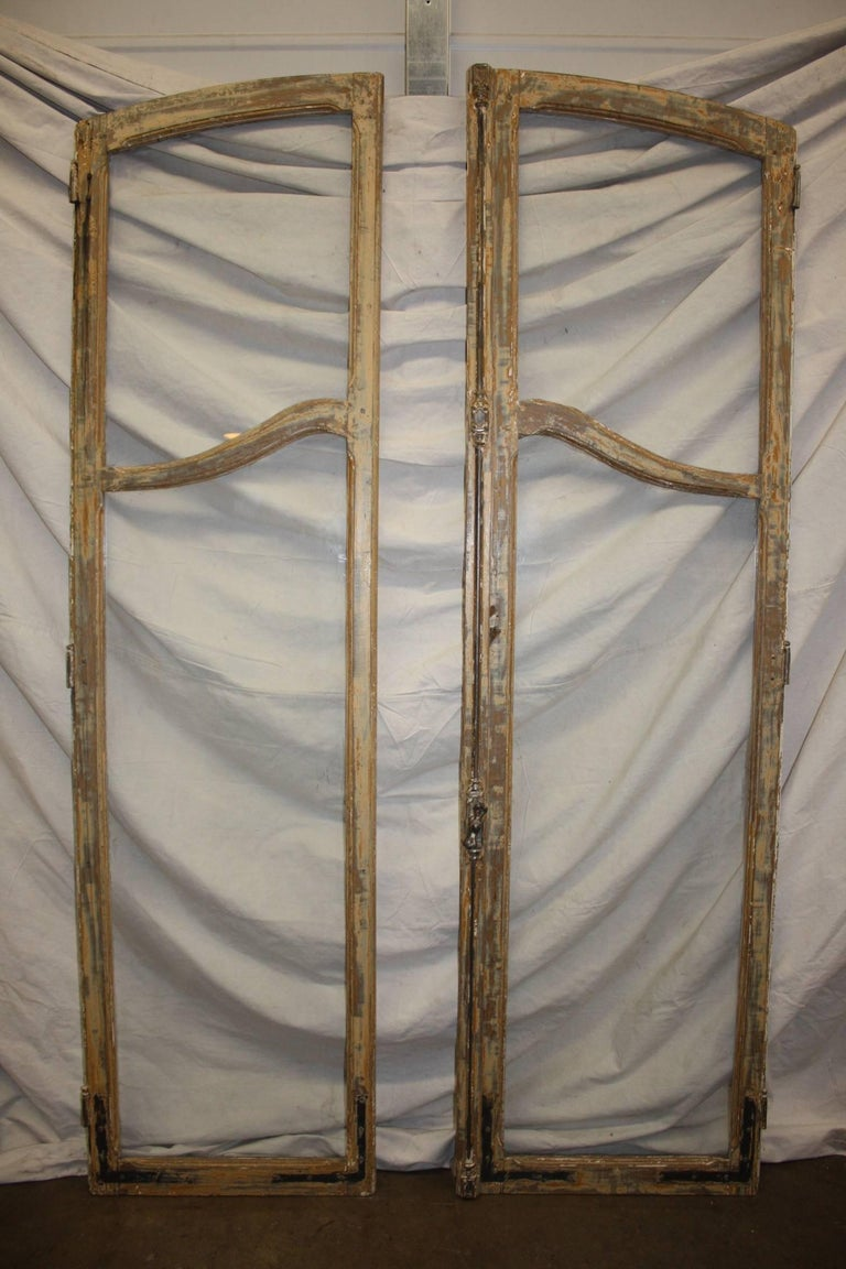 French 19th Century Pair of Doors In Good Condition For Sale In Atlanta, GA