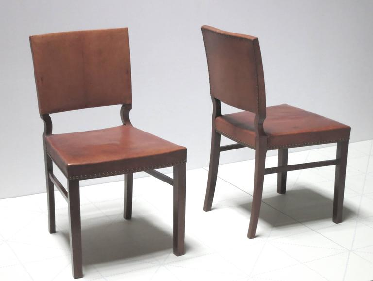 Set of Ten Dining Chairs in Mahogany and Nigerian Goatskin  : FritsHenningsenRoyalDanishAutoclubchairs1012l from www.1stdibs.com size 768 x 579 jpeg 28kB