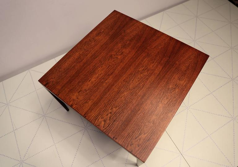 Square Side Table In Brazilian Rosewood By Severin Hansen 3
