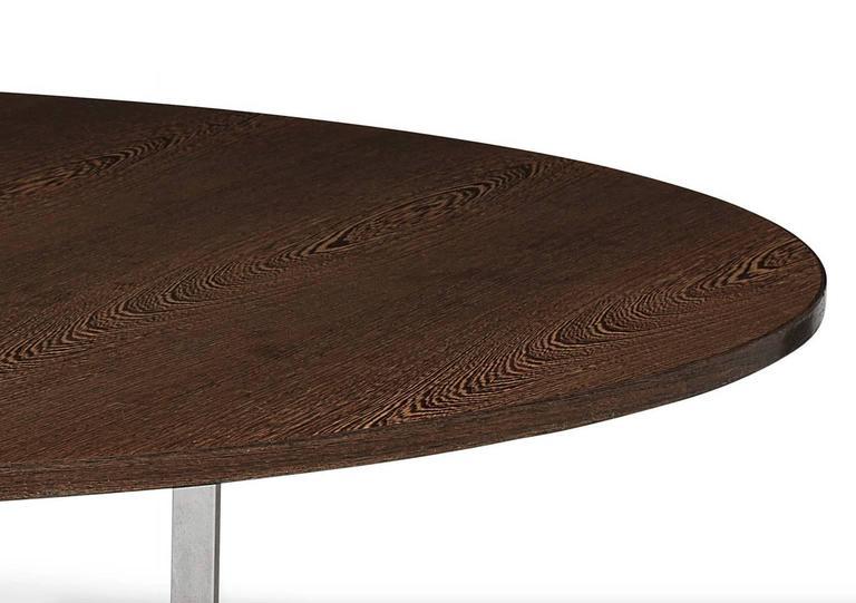 Danish Hans Wegner's Monumental Circular Dining Table, the