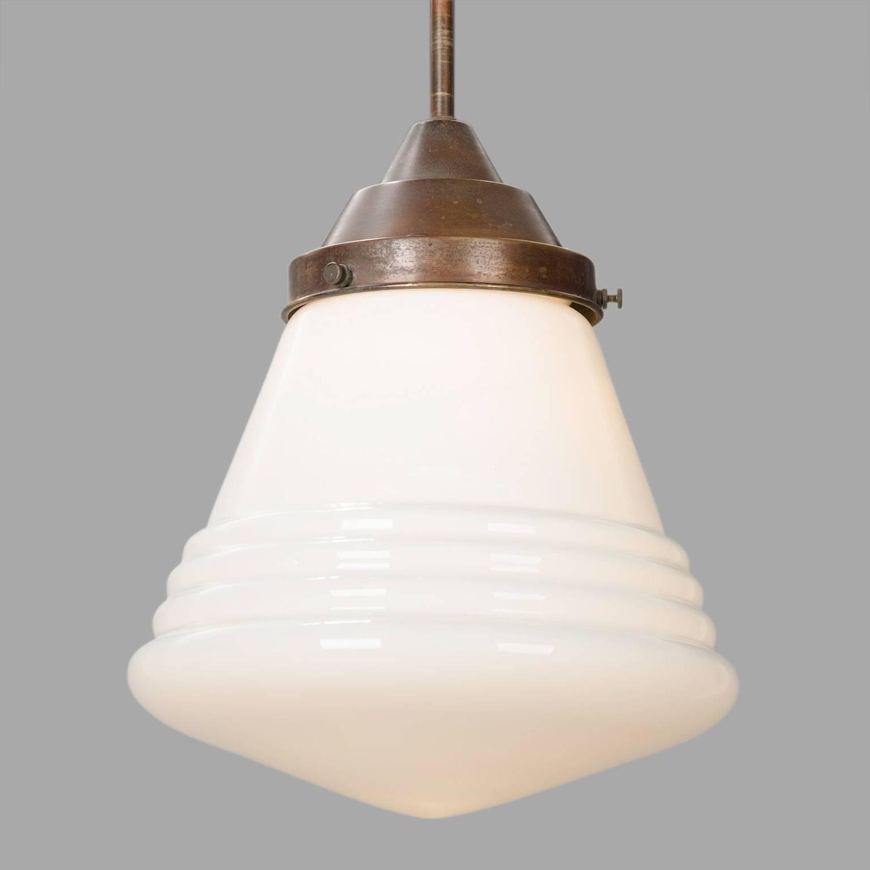 1930s School Pendant Light At 1stdibs
