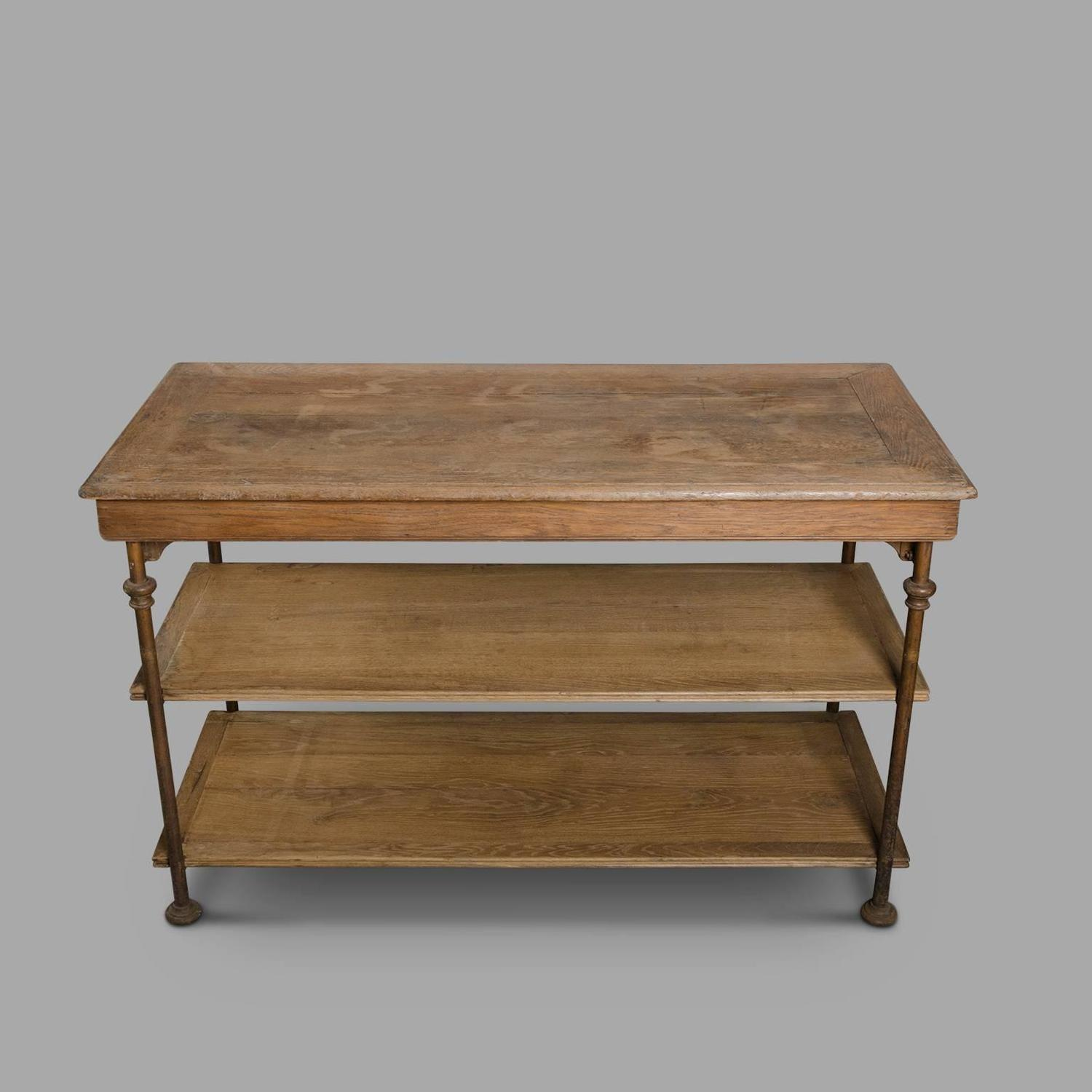 Late 19th century clothier tables theodore scherf at 1stdibs for Table th structure