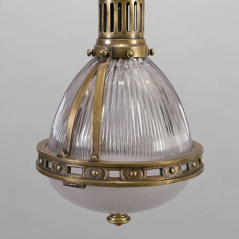 Bronze Holophane Pendant Light circa 1900 3 & Bronze Holophane Pendant Light circa 1900 at 1stdibs azcodes.com