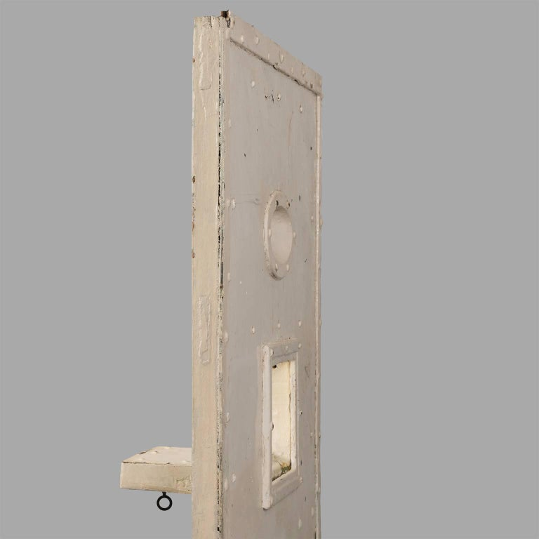 Jail Cell Door, circa 1930 For Sale 5