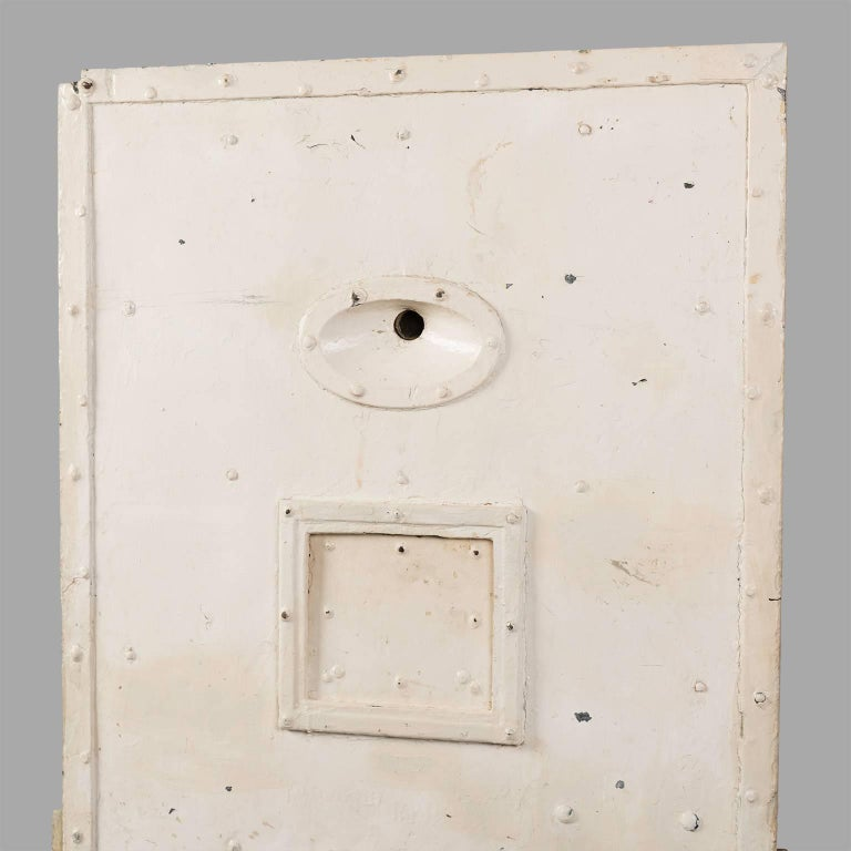 Jail Cell Door, circa 1930 For Sale 3