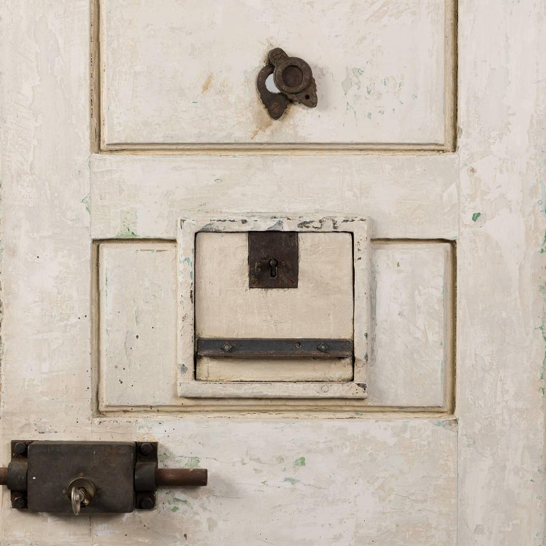 Jail Cell Door, circa 1930 For Sale 2