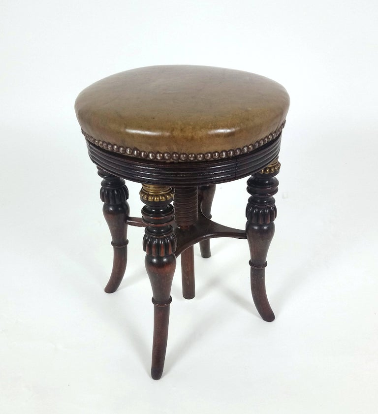 Regency Simulated Rosewood Revolving Adjustable Music