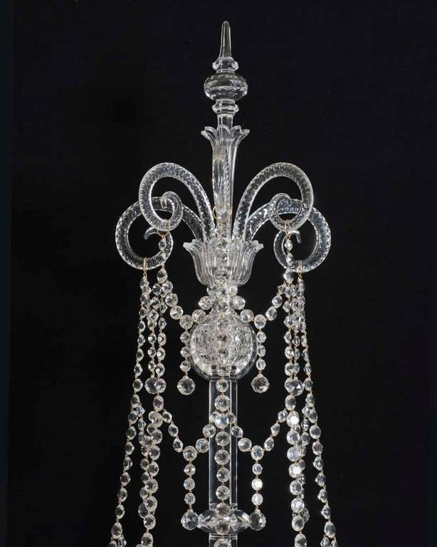 English Extremely Rare Set of Four Victorian Wall Lights of Exceptional Size, F&C Osler For Sale