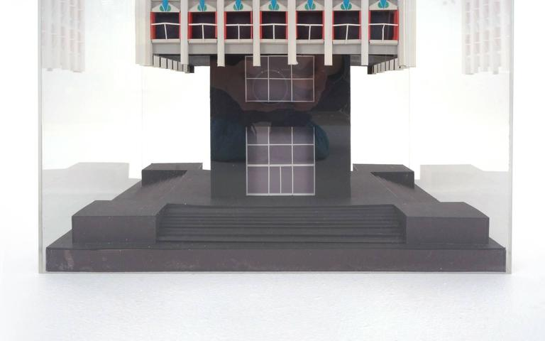 Late 20th Century Irving Harper Architectural Sculpture from His Paper Sculpture Series For Sale