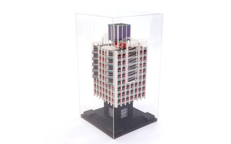 Mid-Century Modern Irving Harper Architectural Sculpture from His Paper Sculpture Series For Sale