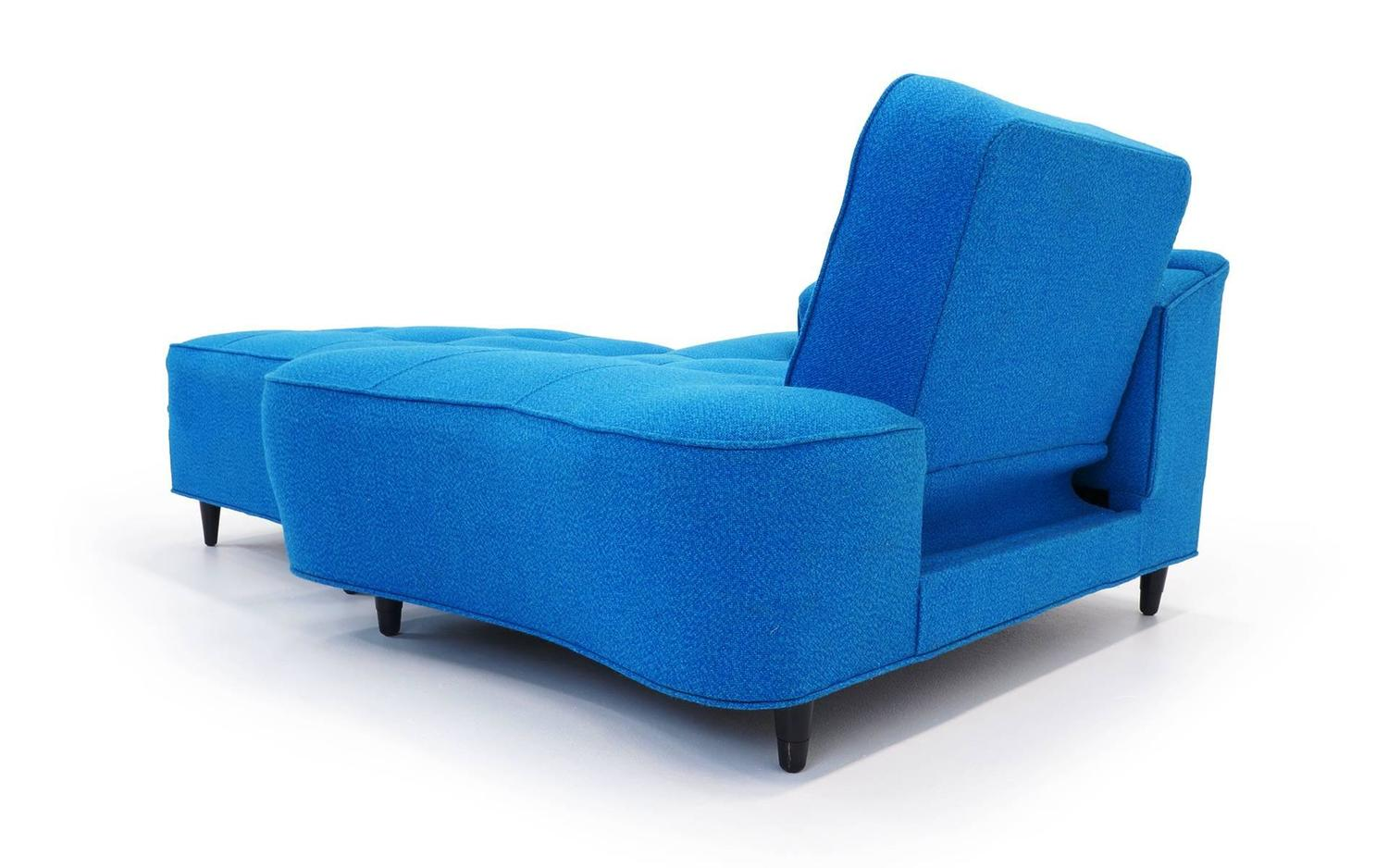 Chaise or daybed with ottoman at 1stdibs for Chaise and a half lounge