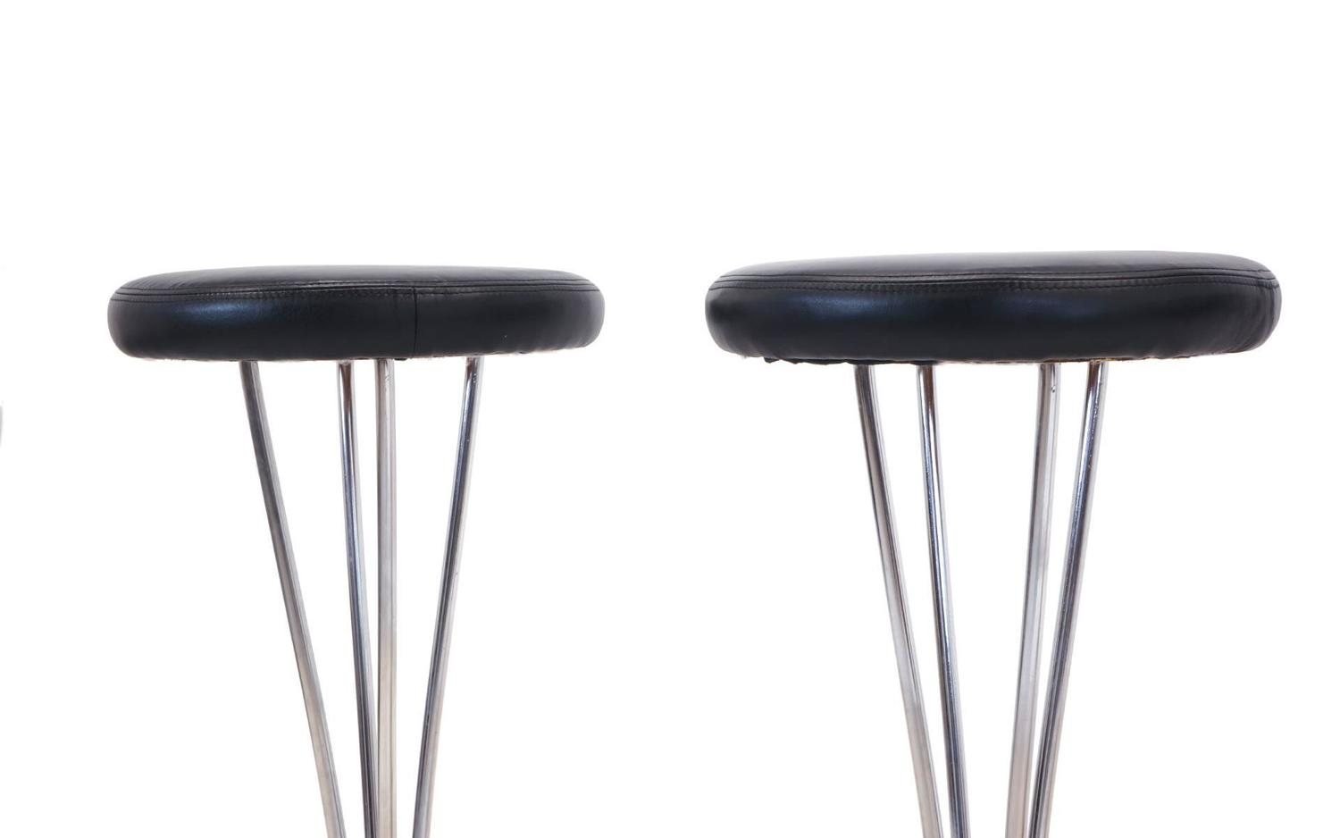 Piet Hein For Fritz Hansen Bar Stools For Sale At 1stdibs