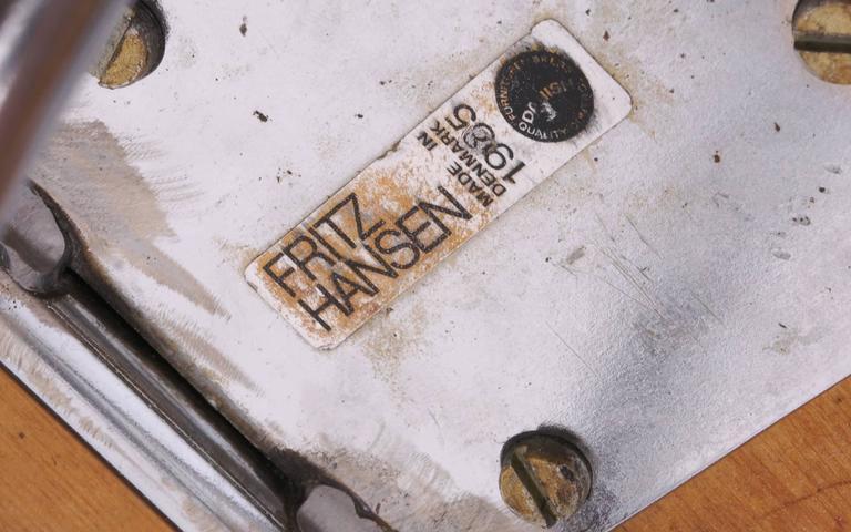Piet Hein for Fritz Hansen Bar Stools 3