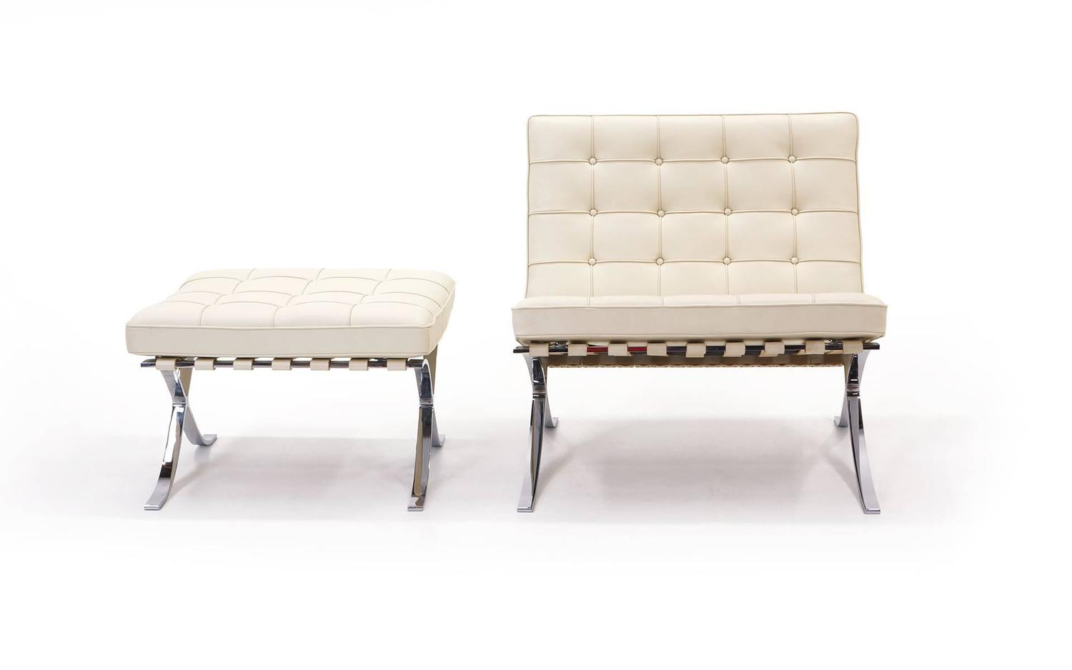 Signed Mies Van Der Rohe Barcelona Chair At 1stdibs