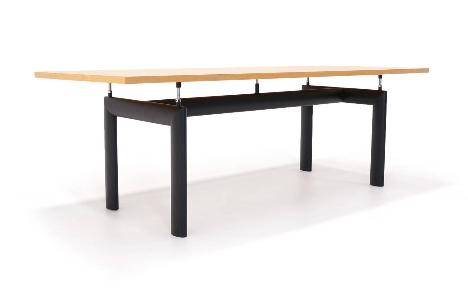 Le corbusier for cassina lc6 dining or conference table at - Table le corbusier lc6 ...