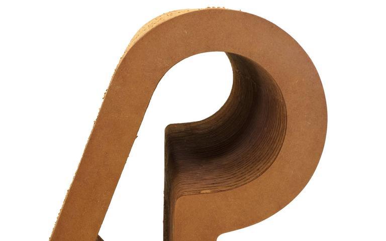 Rare Original Frank Gehry, Easy Edges, Cardboard Contour Chair 1