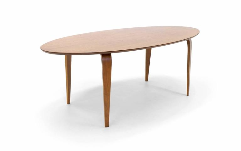 Norman Cherner Oval Dining Table At Stdibs - Cherner dining table