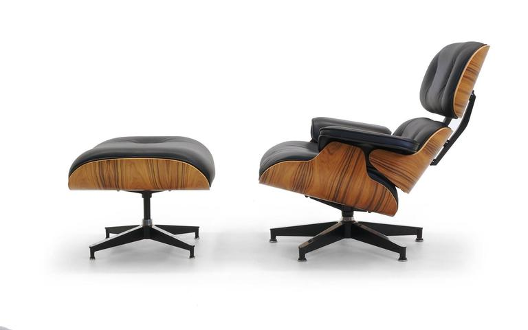 Like New Recent Herman Miller Lounge Chair And Ottoman Designed By Charles And Ray Eames