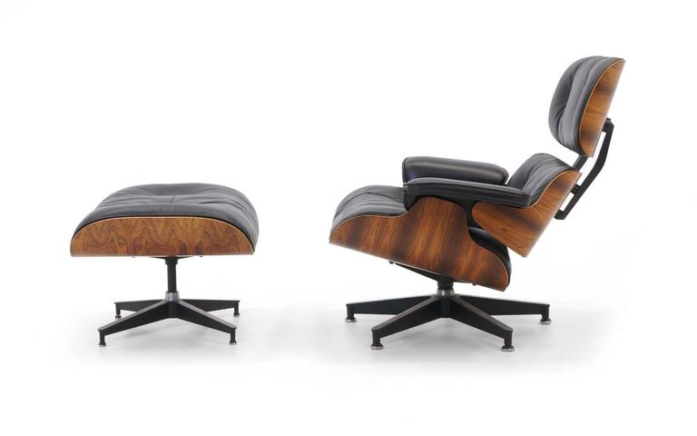 Original Eames Lounge Chair excellent original rosewood eames lounge chair and