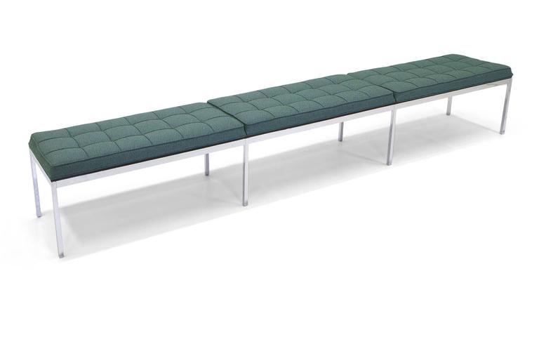 Florence knoll long upholstered bench for sale at 1stdibs Long upholstered bench