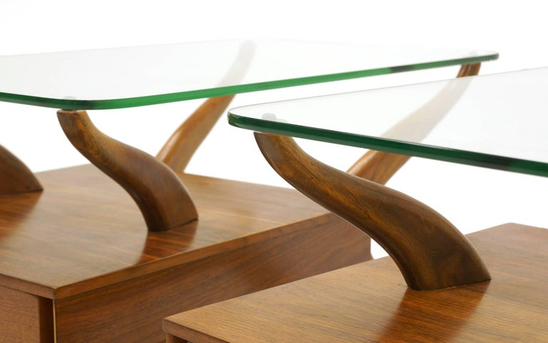 Awesome Sculptural Coffee Table And Two End Tables Ocoug Best Dining Table And Chair Ideas Images Ocougorg