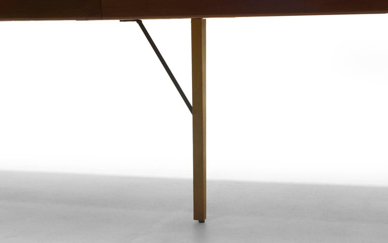 Small To Large Expandable Teak Dining Table By H W Klein For Bramin Sale At 1stdibs