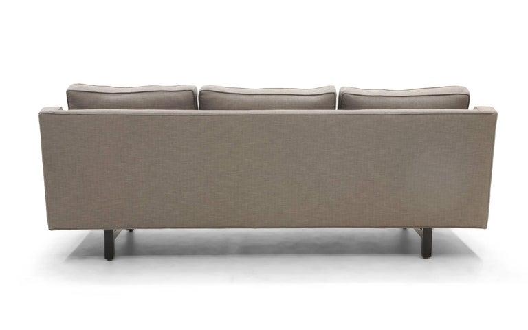 Three-Seat Sofa by Edward Wormley for Dunbar, Fully Restored, Like New For Sale 3